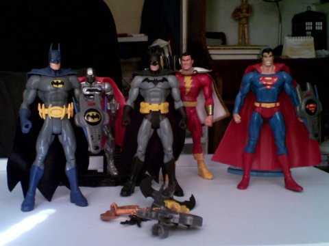 There They Are All Five Dc Comics Action Figures I Own Anyone Whos Read My Other Blog Is Probably Surprised That I Have More Marvel Figures Than Dc