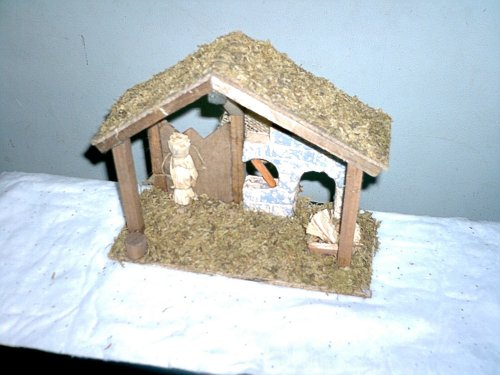 wood nativity plans