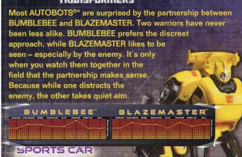 Bumblebee Legend tech spec