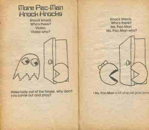 Pac-Man Riddle & Joke Book 10