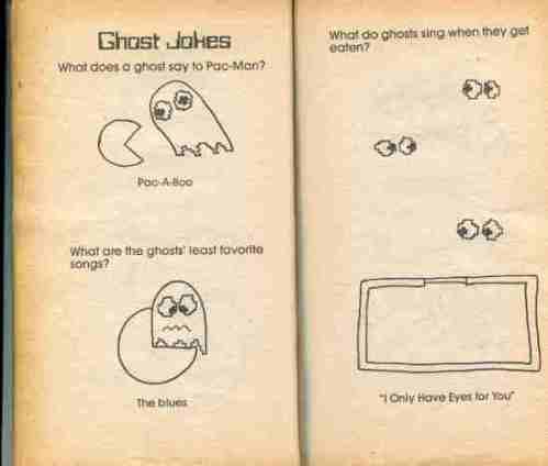Pac-Man Riddle & Joke Book 9