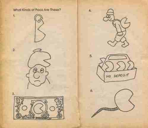 Pac-Man Riddle & Joke Book3