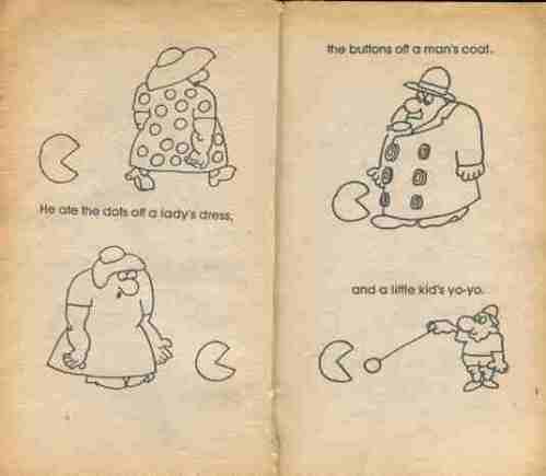 Pac-Man Riddle & Joke Book4