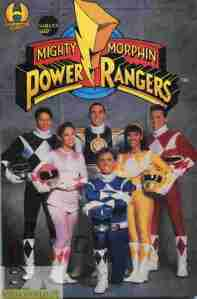 Mighty Morphin Power Rangers trade