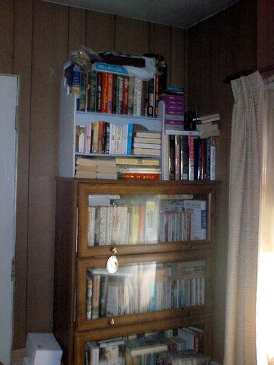 mom's bookcase