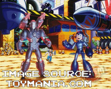 I'm using an image from another site because as of this posting mine is lost along with Mega Man's headpiece.